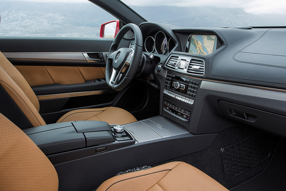 2014 Mercedes-Benz E-Class Coupe Interior