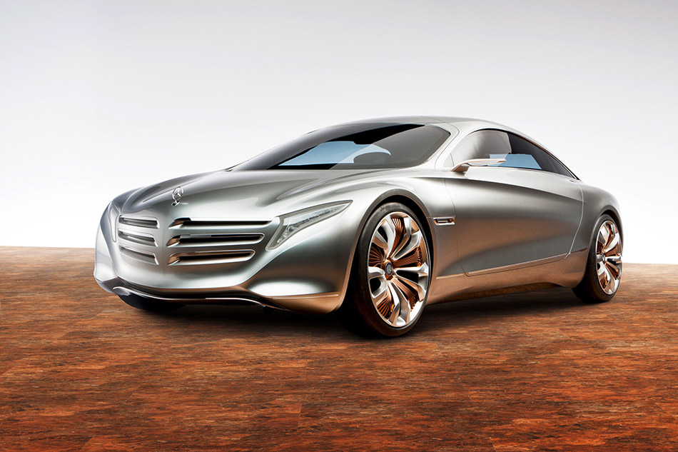 2011 Mercedes-Benz F125 Concept Front Angle