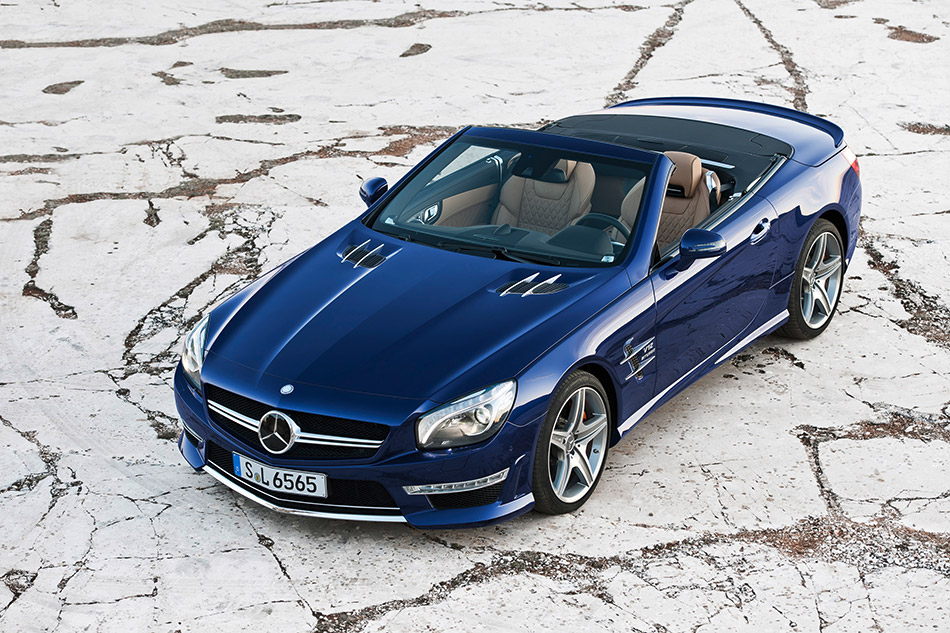 2013 Mercedes-Benz SL 65 AMG Front Angle