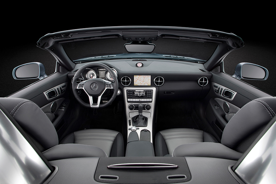 2012 Mercedes-Benz SLK350 Interior