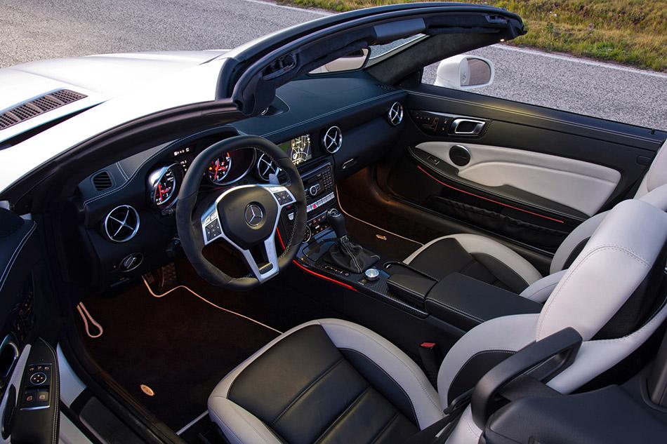 2012 Mercedes-Benz SLK55 AMG Interior
