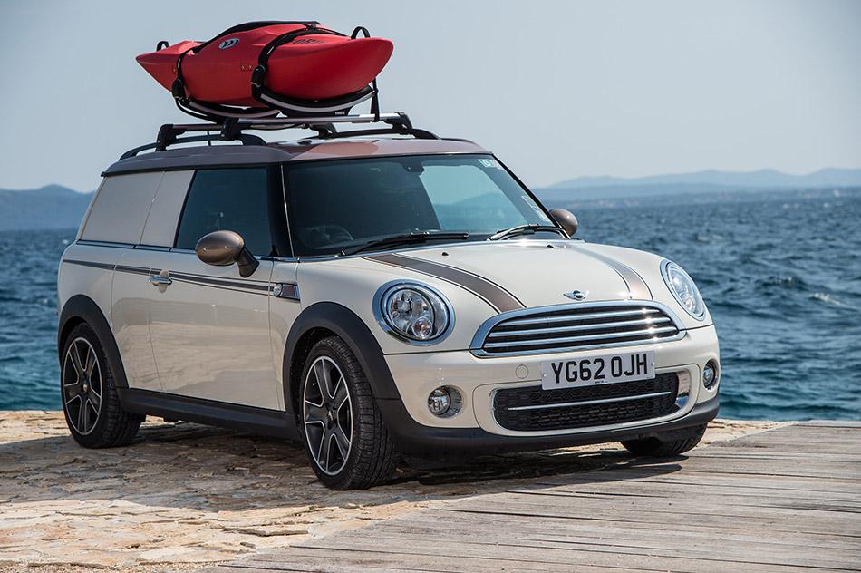 2013 Mini Clubvan Camper Front Angle