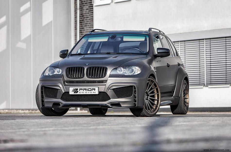 2013 Prior-Design BMW X5 E70 PD5X Front Angle