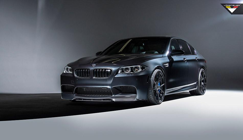 2013 Vorsteiner BMW F10 M5 Front Angle