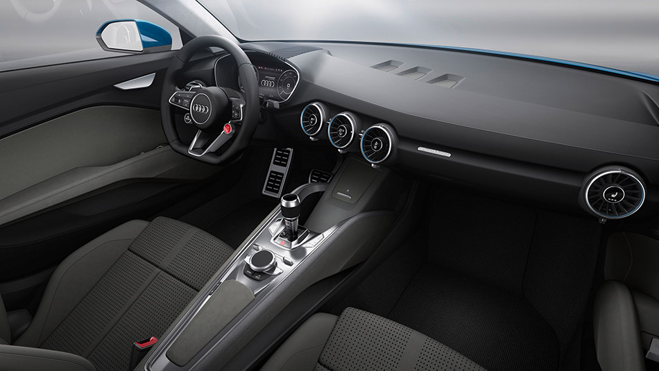 2014 Audi allroad shooting brake show car Interior