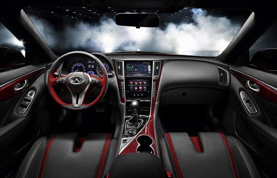 2014 Infiniti Q50 Eau Rouge Concept Interior