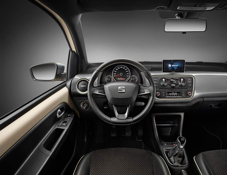 2014 Seat Mii Mango Special Edition Interior