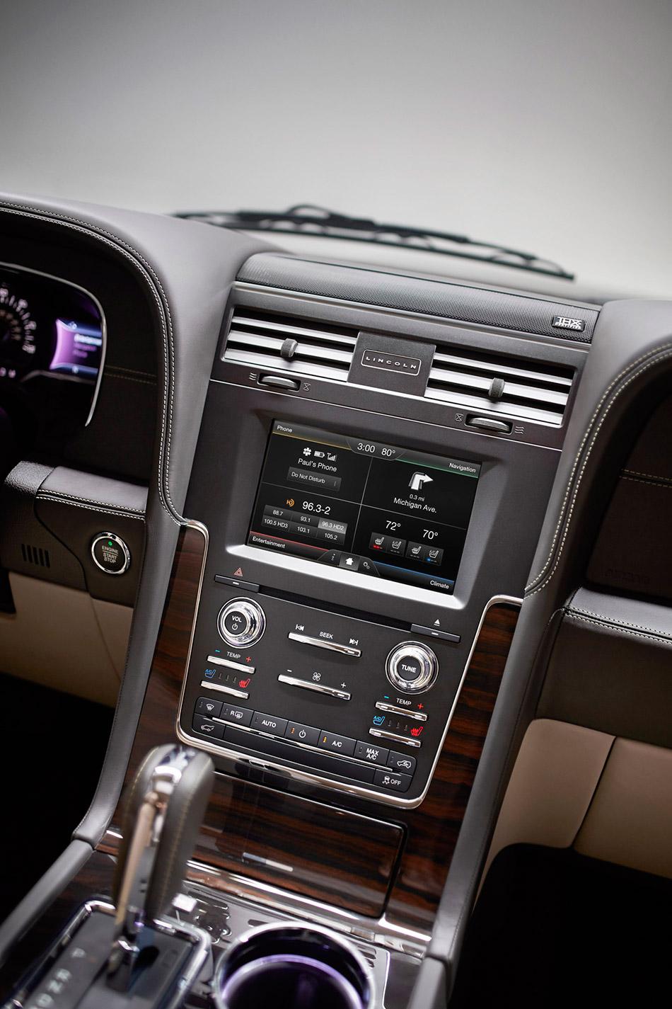 2015 Lincoln Navigator Navigation System