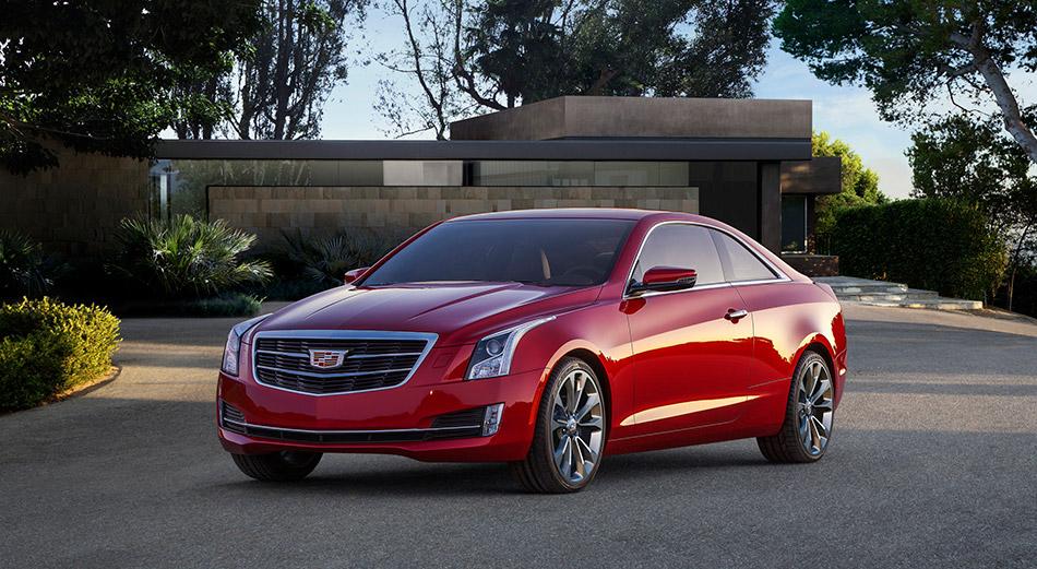 2015 Cadillac ATS Coupe Front Angle