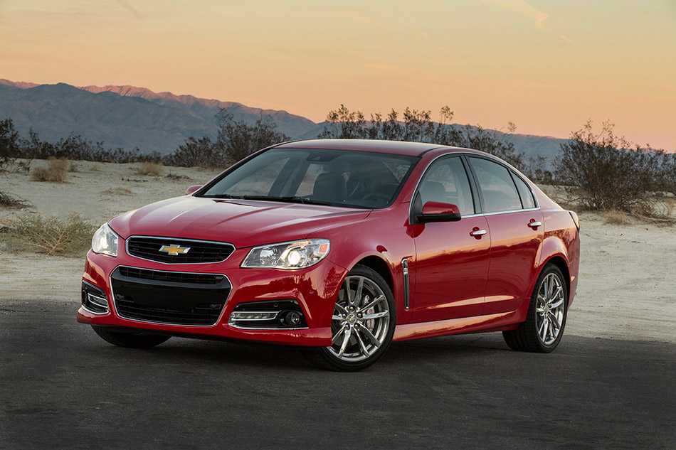2014 Chevrolet SS Front Angle