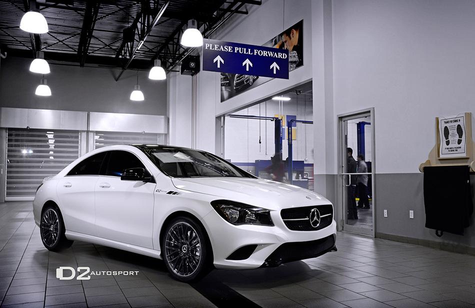 2014 D2Autosport Mercedes-Benz CLA250 Front Angle