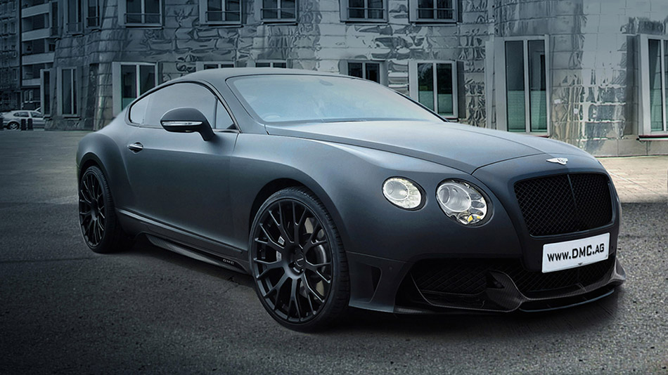 2013 DMC Bentley GT DURO China Edition Front Angle