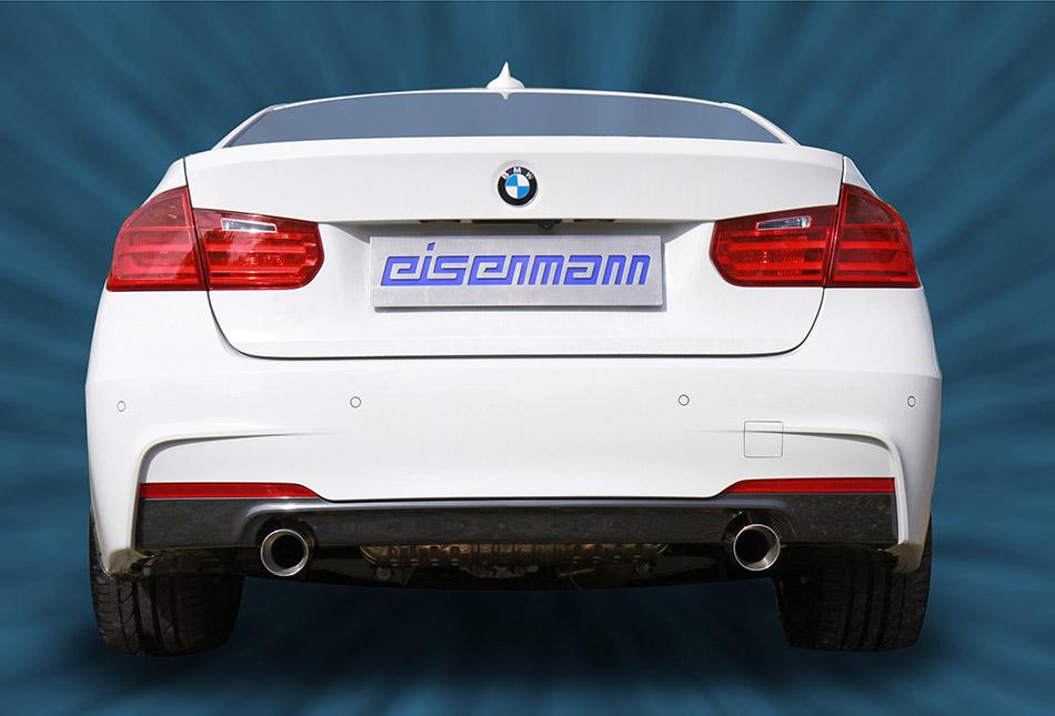 2014 Eisenmann BMW 3-series Exhaust Systems