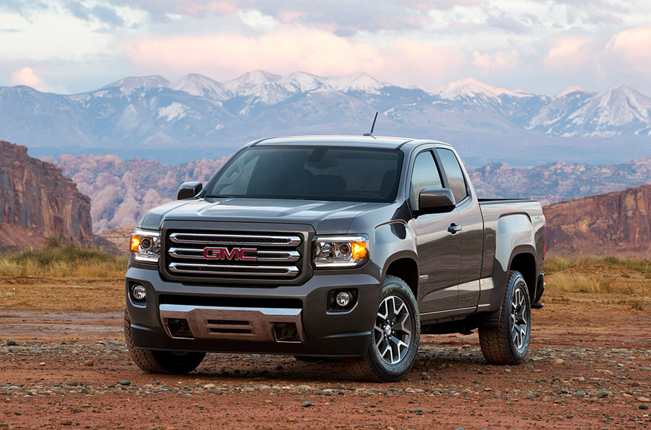 2015 GMC Canyon Front Angle