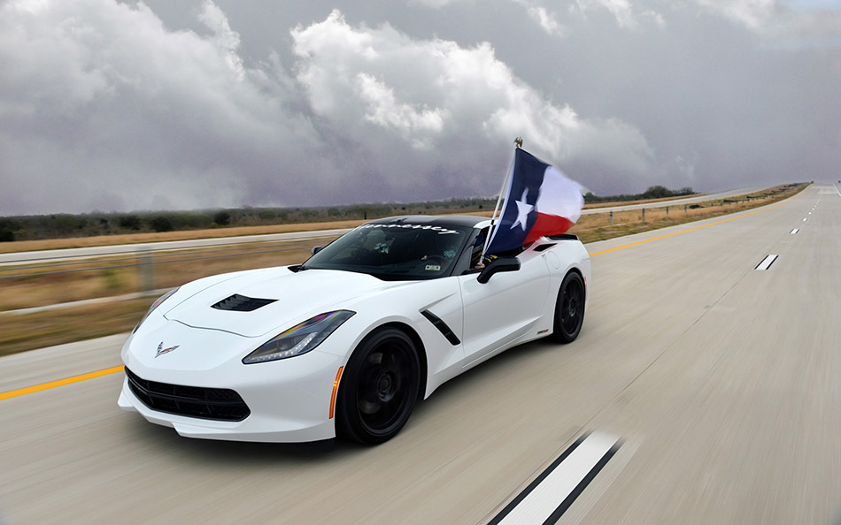2014 Hennessey Chevrolet Corvette Stingray HPE600 Toll Road