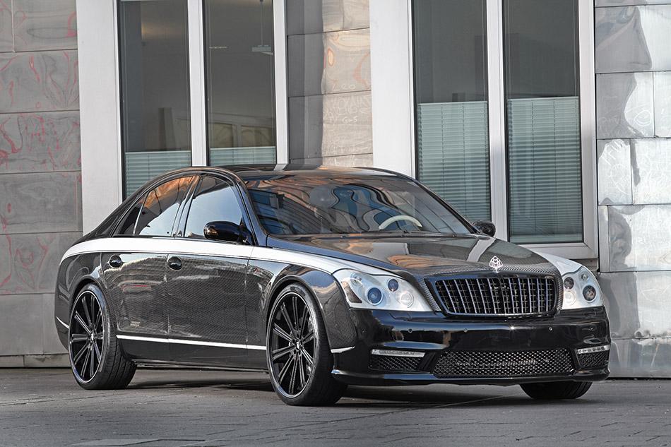 2014 Knight Luxury Maybach-Sir Maybach Front Angle