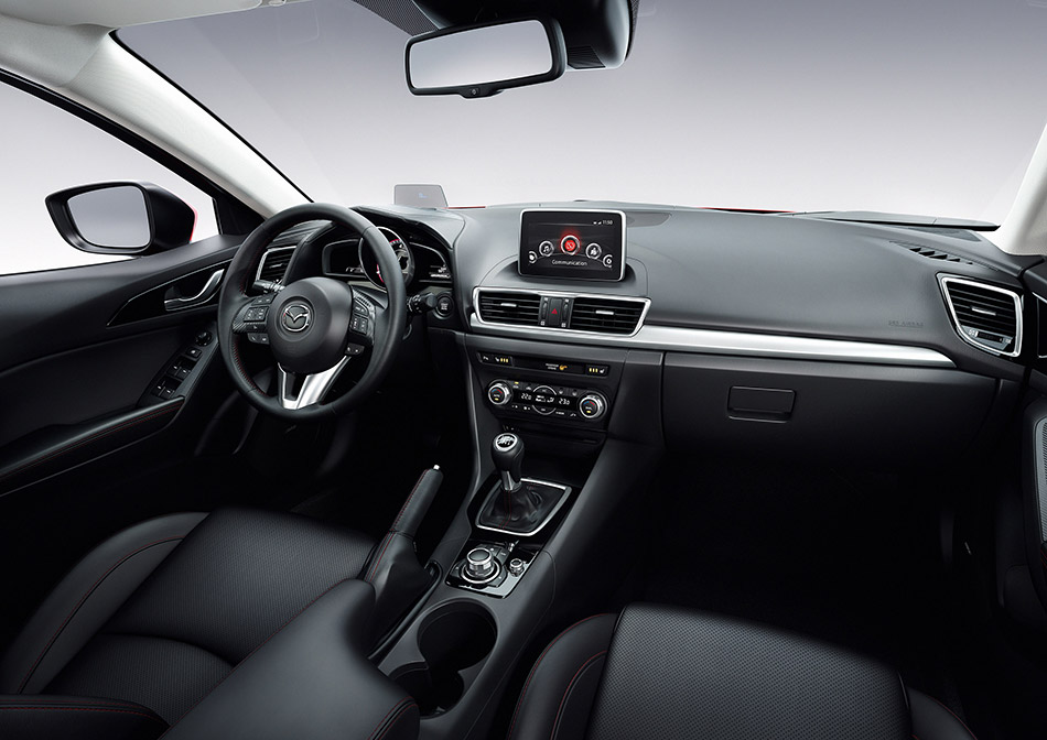 2014 Mazda 3 Hatchback Interior