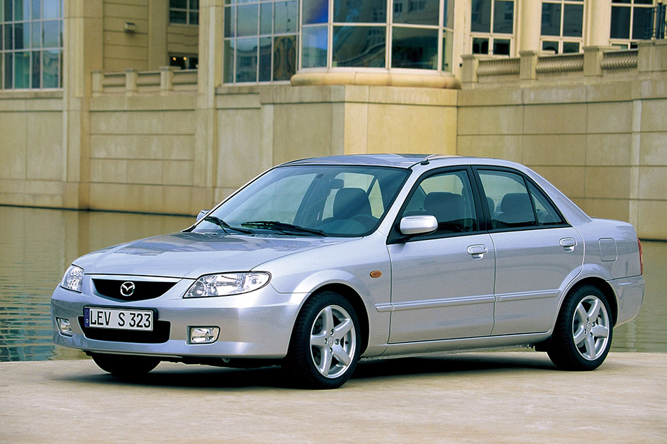 2000 Mazda 323 Front Angle