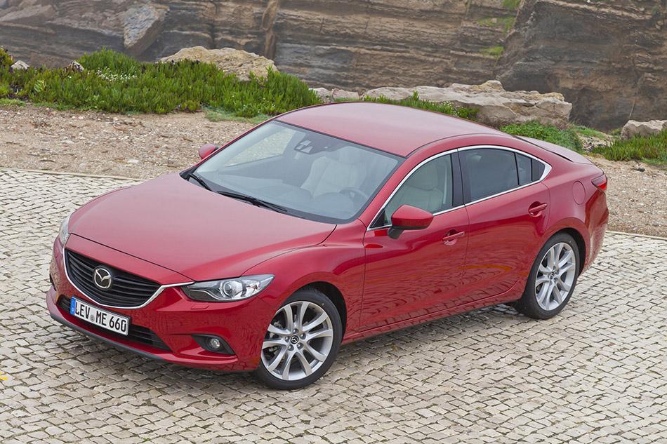 2013 Mazda 6 Sedan Front Angle