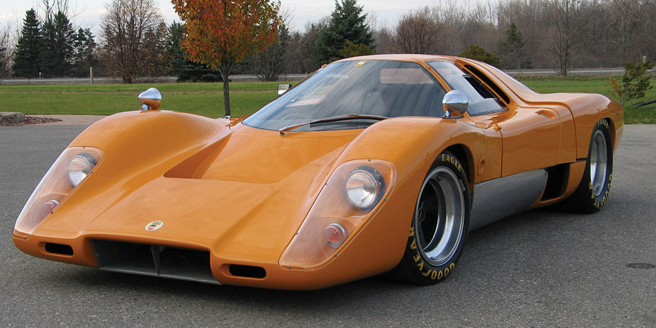 1969 McLaren M6GT Front Angle