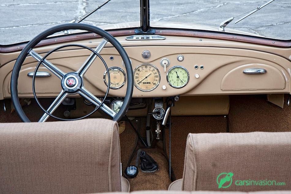 1936 Mercedes-Benz 170H Interior