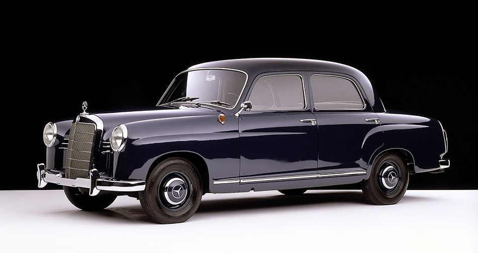 1953 Mercedes-Benz 180 Front Angle