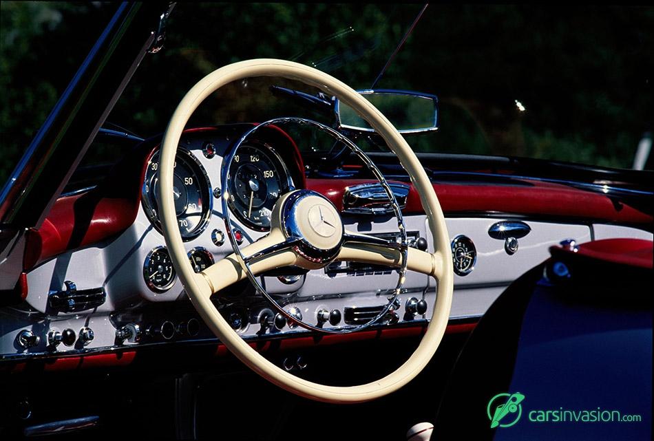 1955 Mercedes-Benz 190 SL Roadster Interior