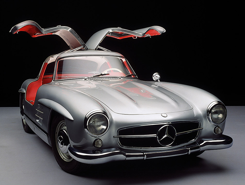 1954 Mercedes-Benz 300 SL Front Angle