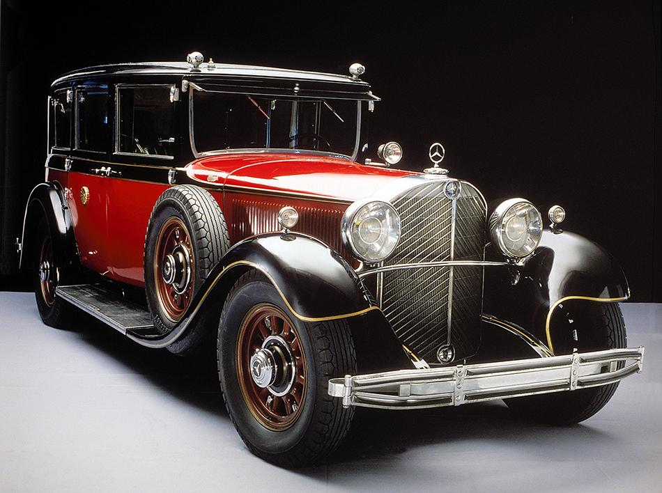 1930 Mercedes-Benz 770 Grand Mercedes Front Angle