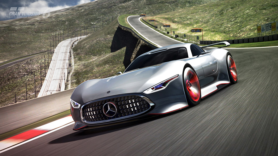 2015 Mercedes-Benz AMG Vision Gran Turismo Racing Series Front Angle