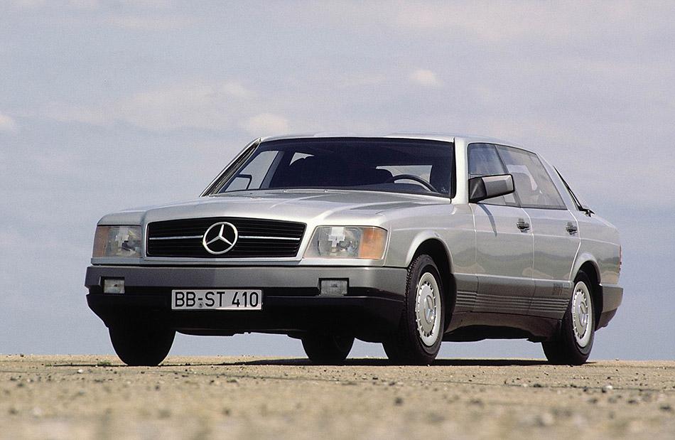 1981 Mercedes-Benz Auto 2000 Concept Front Angle