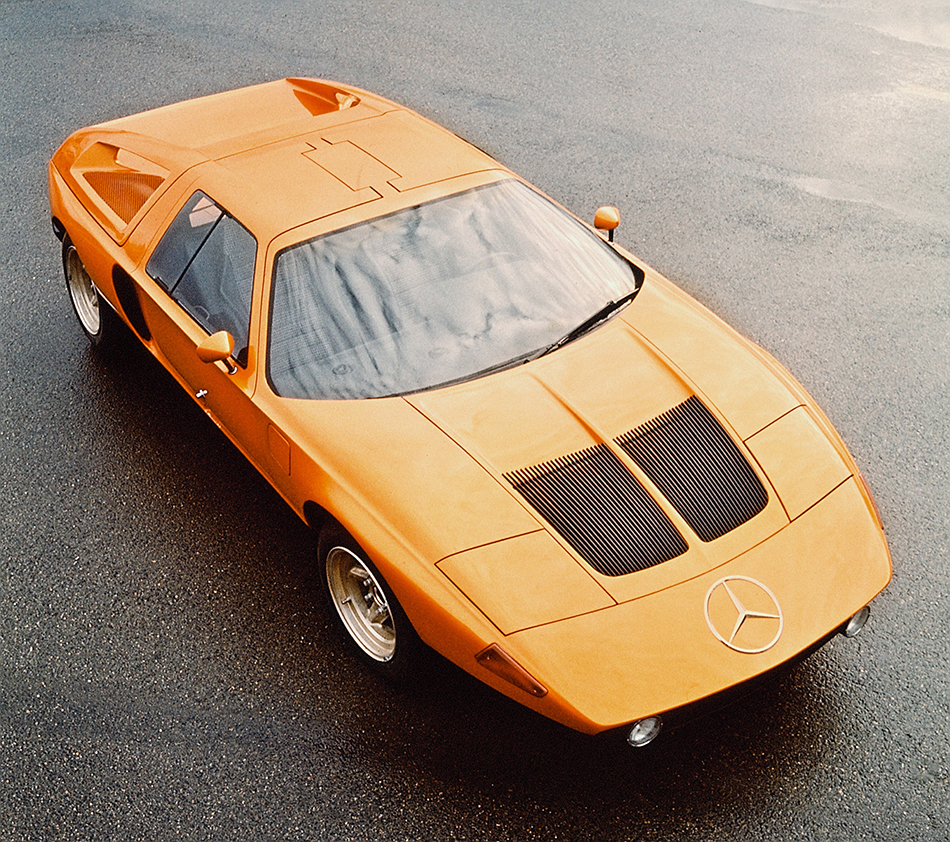 1970 Mercedes-Benz C 111-II Concept Front Angle