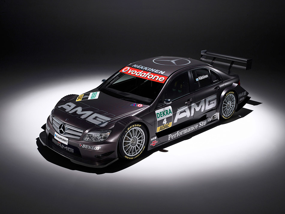 2007 Mercedes-Benz C-Class DTM AMG Front Angle