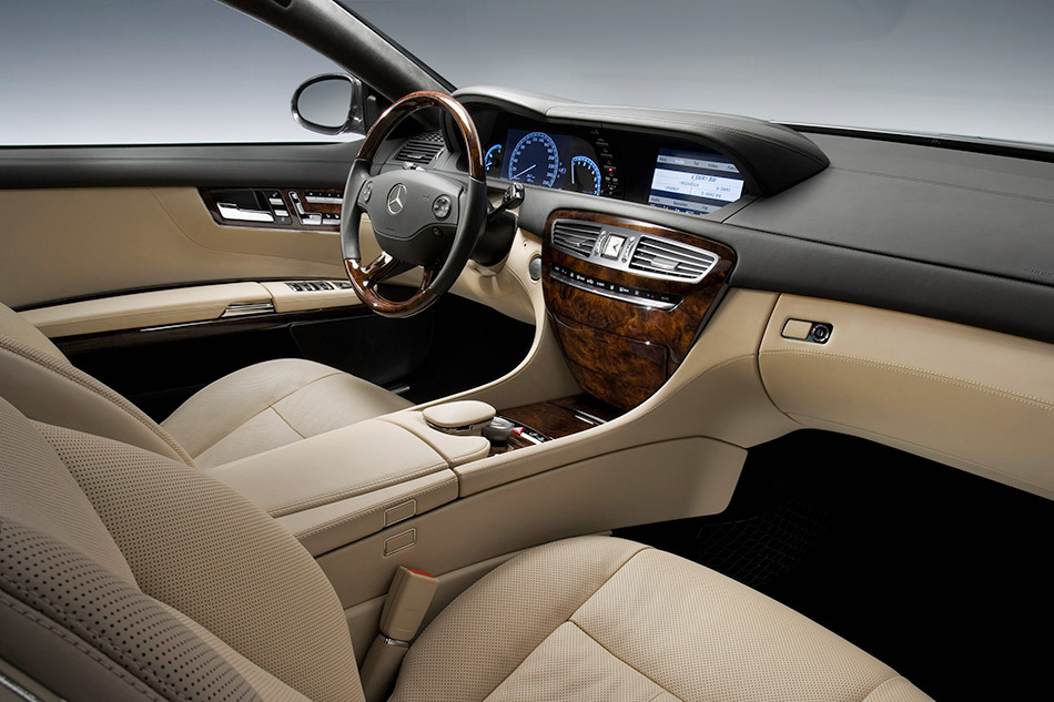 2007 Mercedes-Benz CL 600 Interior