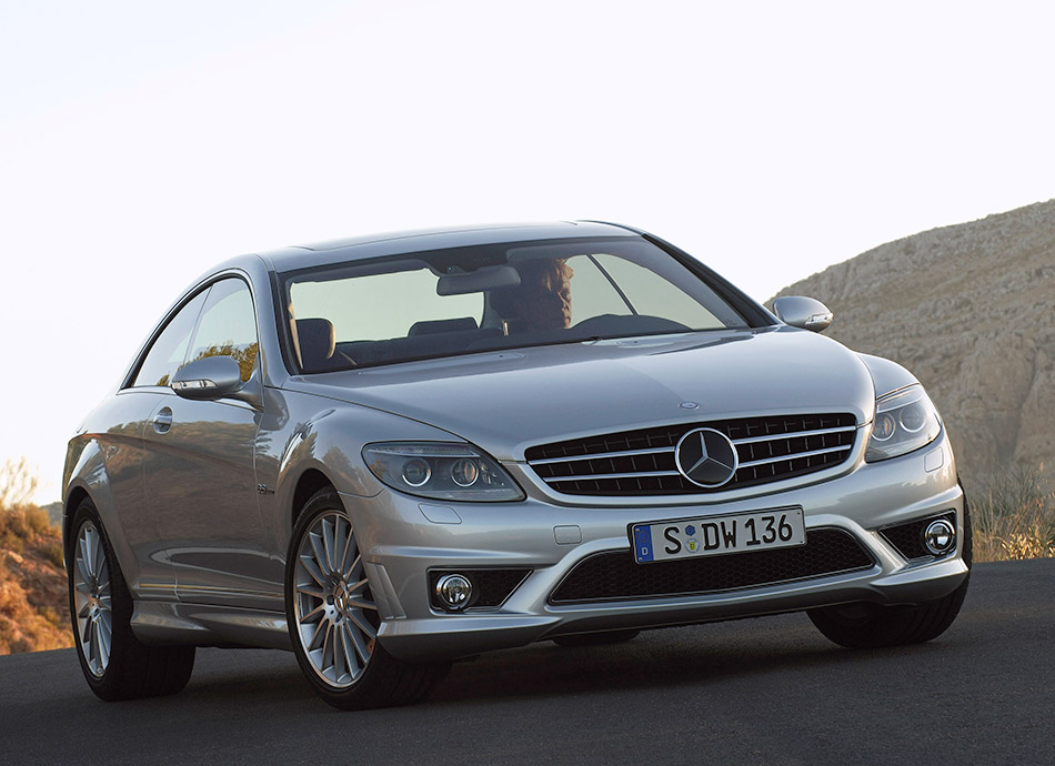 2007 Mercedes-Benz CL63 AMG Front Angle
