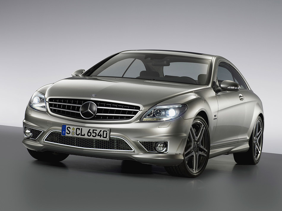 2008 Mercedes-Benz CL65 AMG Front Angle