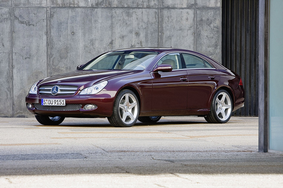 2009 Mercedes-Benz CLS 280 Front Angle