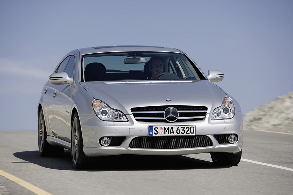 2009 Mercedes-Benz CLS 63 AMG Front Angle
