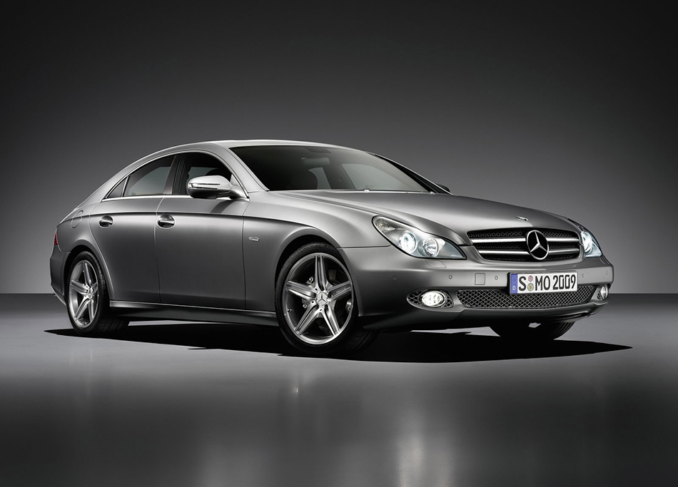 2009 Mercedes-Benz CLS Grand Edition Front Angle