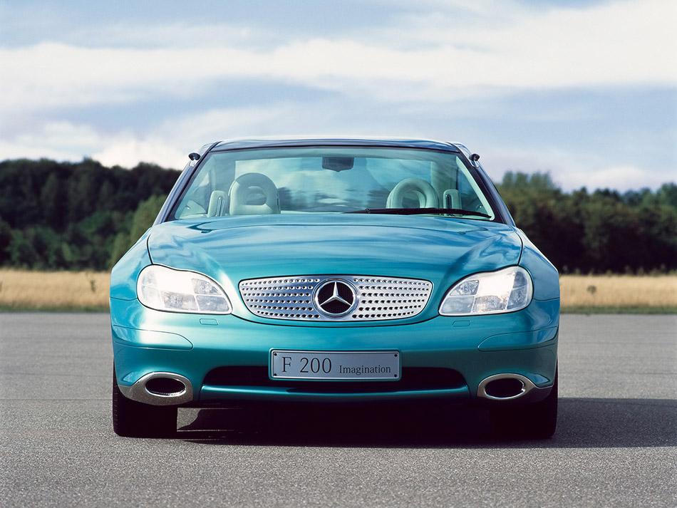 1996 Mercedes-Benz F 200 Concept Front