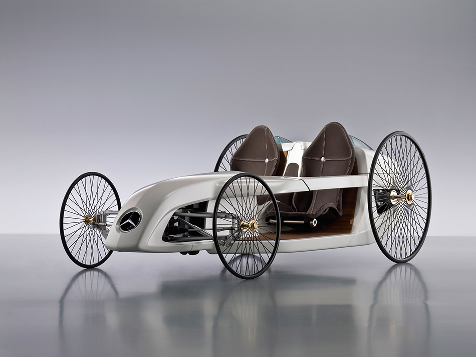 2009 Mercedes-Benz F-Cell Roadster Concept Front Angle
