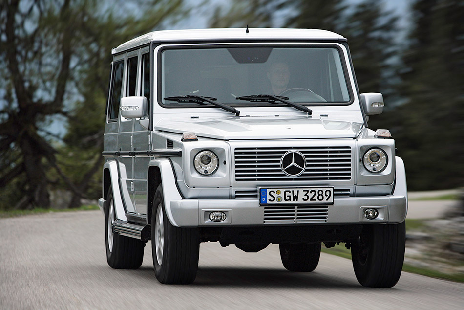 2007 Mercedes-Benz G-Class Front Angle