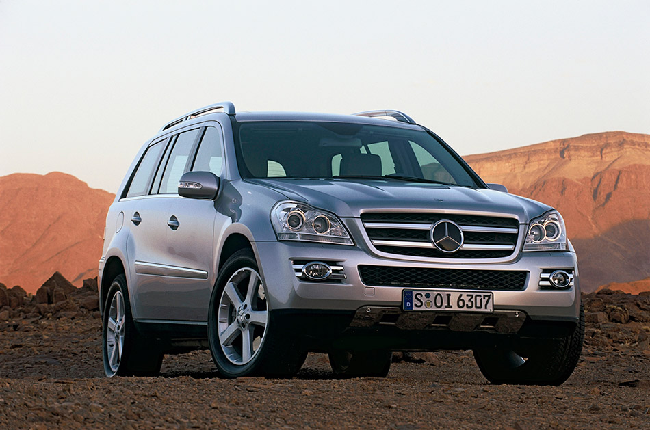 2006 Mercedes-Benz GL420 CDI Front Angle