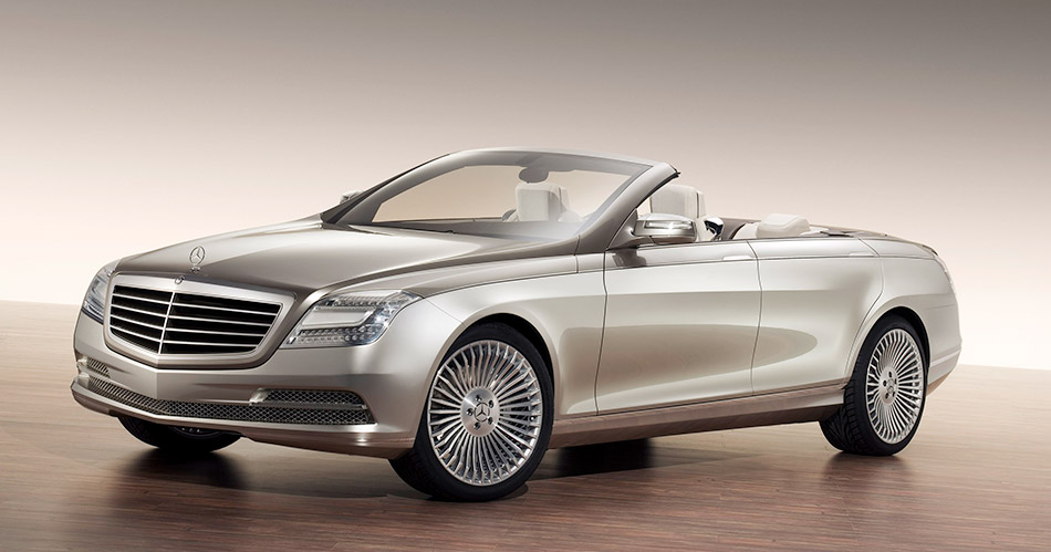 2007 Mercedes-Benz Ocean Drive Concept Front Angle
