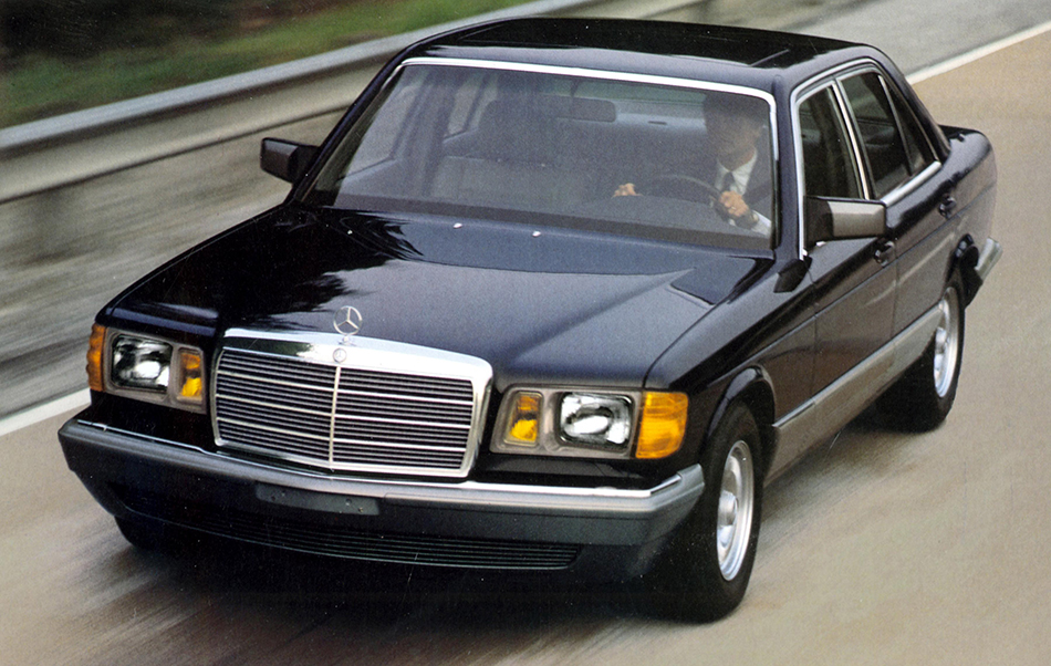 1979 Mercedes-Benz S-Class W126 Front Angle