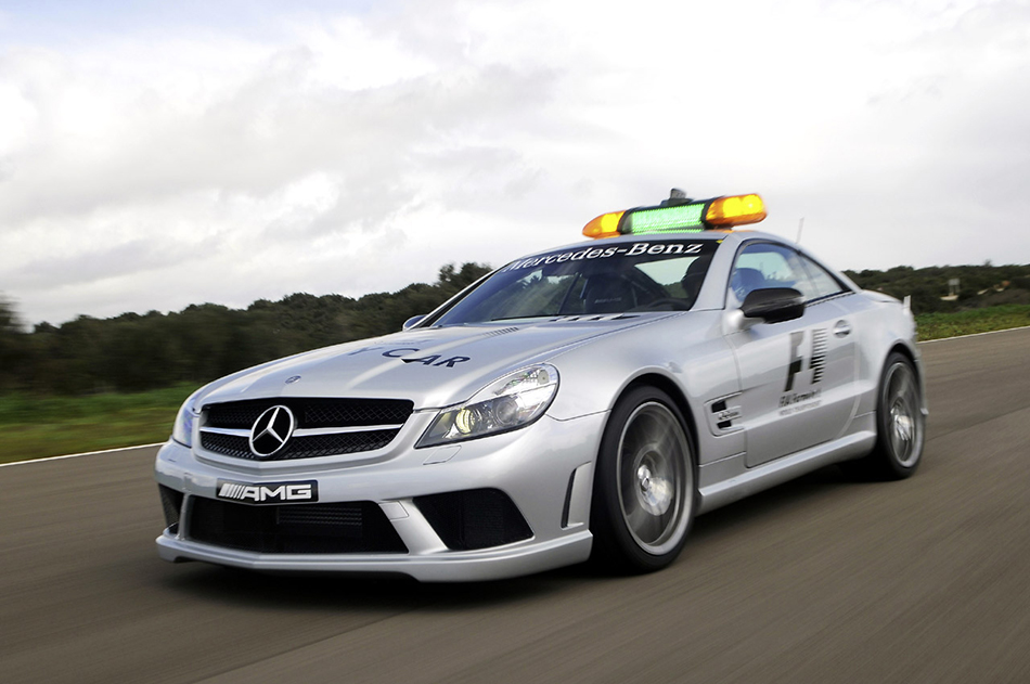 2009 Mercedes-Benz SL63 AMG F1 Safety Car Front Angle