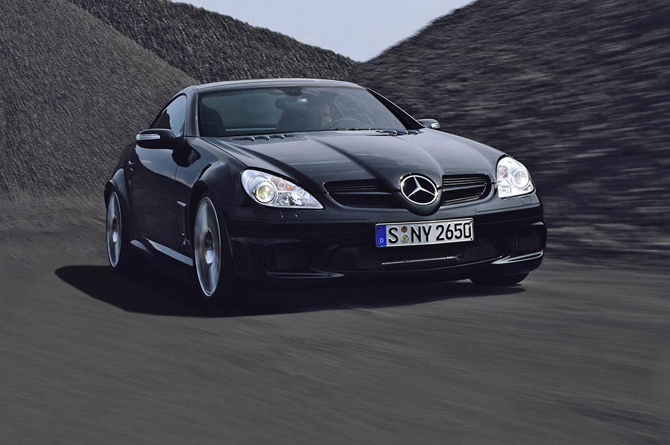 2007 Mercedes-Benz SLK 55 AMG Black Series Front Angle