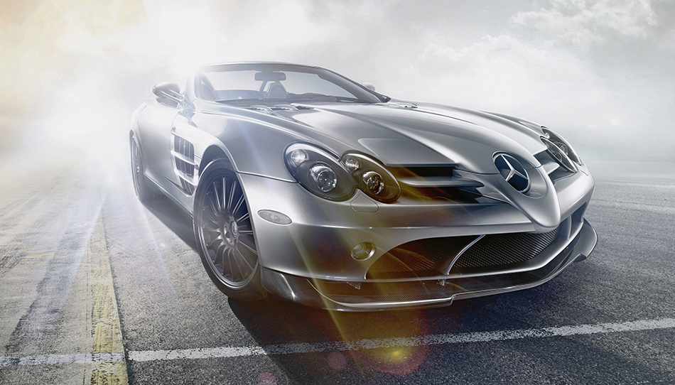 2009 Mercedes-Benz SLR McLaren Roadster 722 S Front Angle