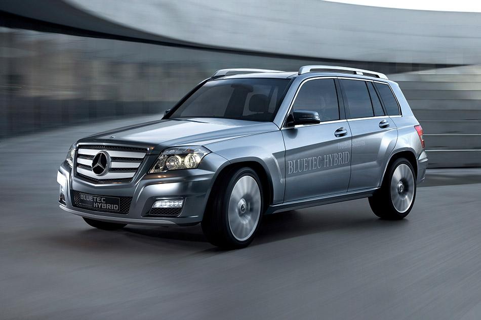 2008 Mercedes-Benz Vision GLK Bluetec Hybrid Concept Front Angle