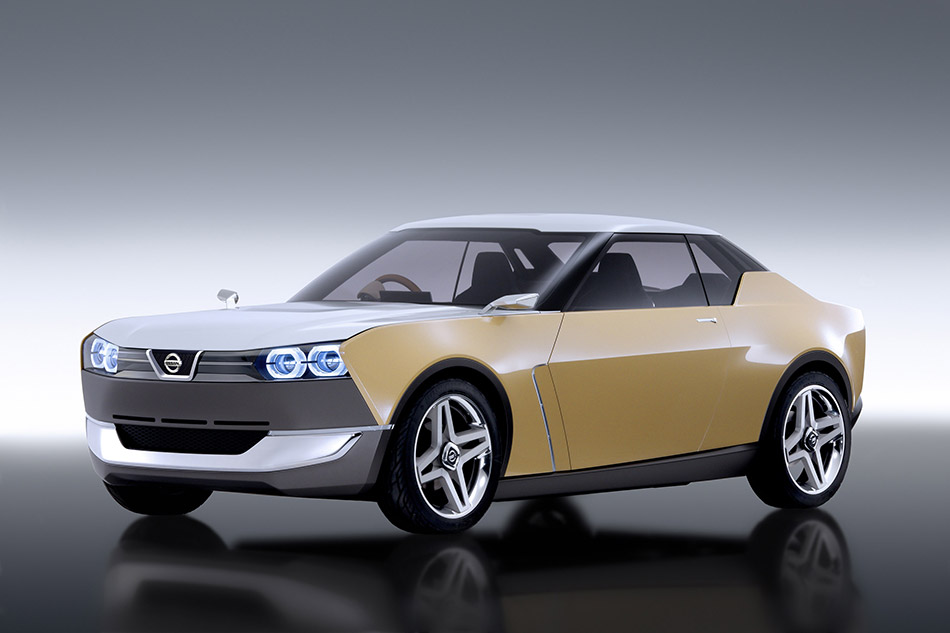 2015 Nissan IDx Freeflow Concept Front Angle